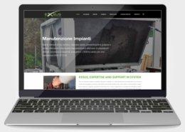 Exsus Rovigo realizzazione sito web
