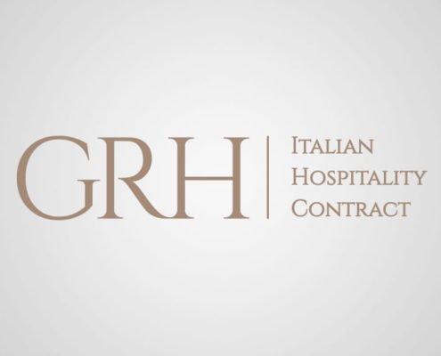 Ideazione logo aziendale GRH Contract