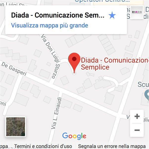 Diada mappa google dove siamo Lendinara