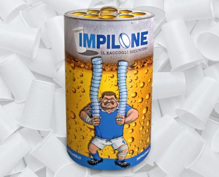 Impilone raccogli bicchieri da birra diada