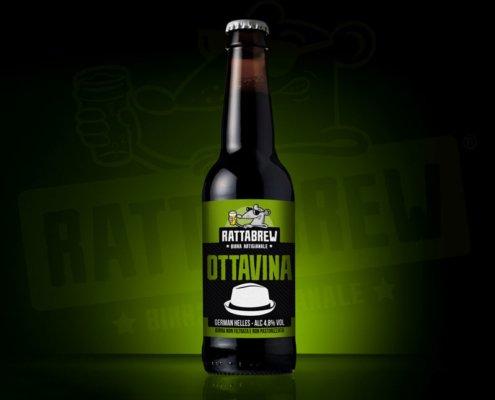 Etichetta Birra Ottavina Rattabrew